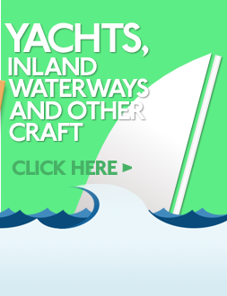 Yachts, inland waterways and other craft